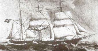 Hovding sailing ship
